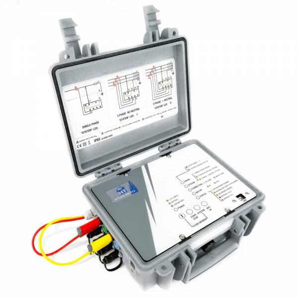 HT-Instruments PQA820Ti3 Phasen Datenlogger zur Netz- und Leistungsanalyse inkl. iPadMini