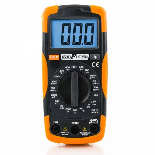 HT-Instruments HT25N Kompaktes Multimeter mit Batterietester