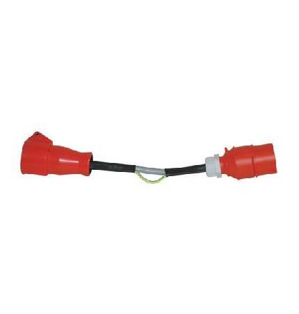 HT-Instruments CEE32A DS-AdapterCEE 32A Differenzstromadapter für Schutzleiterstrommessung