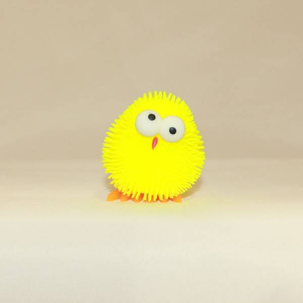 """Fluffi-Leucht-Küken """"Hoppsi"""" mit Licht, gelb"""