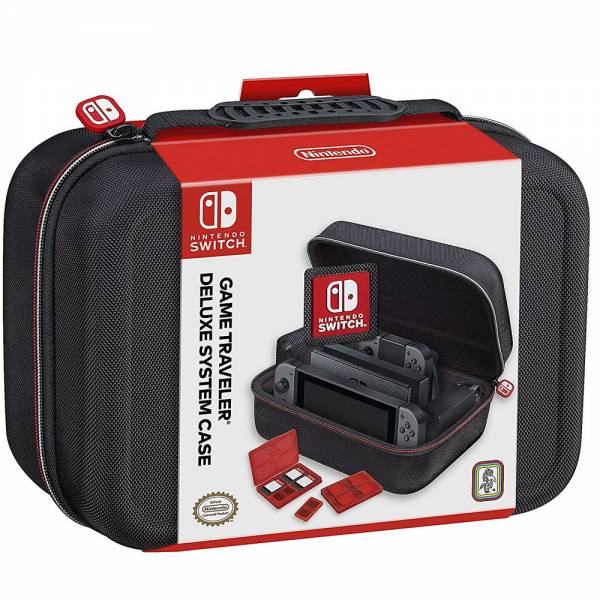 DeLuxe Case - black NNS60 SWITCH (Nintendo)