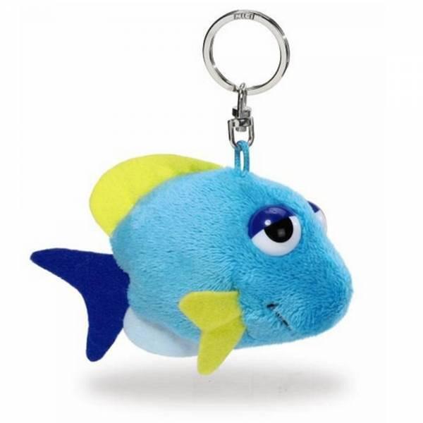 Nici, blauer Fisch, Schlüsselanhänger, ca 10cm