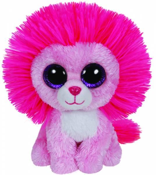 """Ty Beanie Boo's, """"Fluffy"""", Löwe pink, ca. 15cm, limitiert"""
