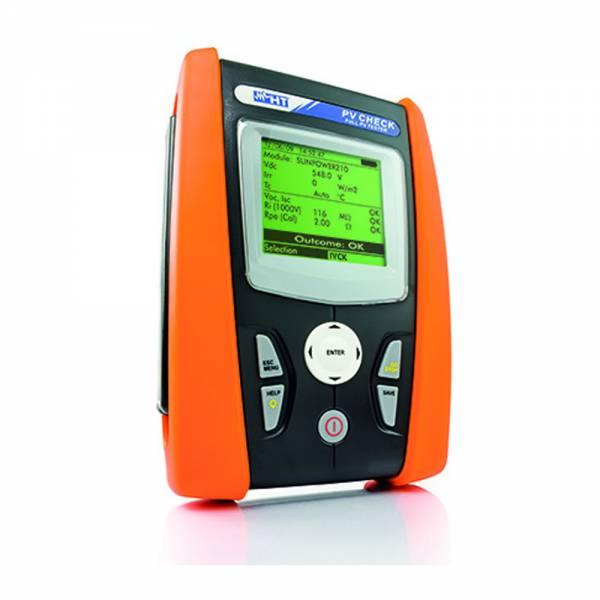 HT-Instruments PV-CHECKs Photovoltaik-Installationstester gemäß VDE 0126-23 ( EN 62446) bis 15ADC