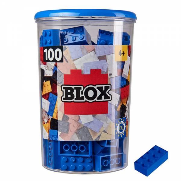Produkt Abbildung blox_100_blaue_8er_steine_in_dose.jpg