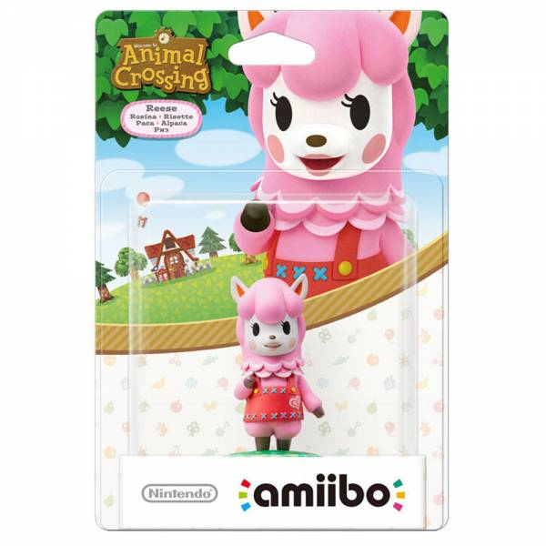 amiibo - Animal Crossing Rosina Figur Wii U / 3DS / 2DS