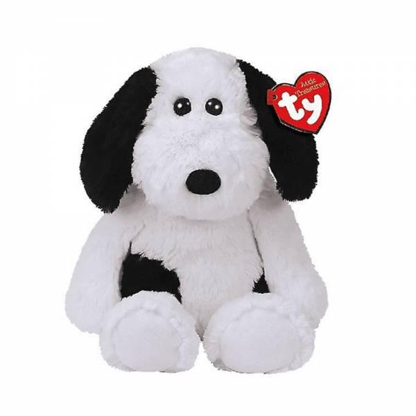"Ty Cuddlys, ""Muggy"", Hund schwarz/weiss 33cm"