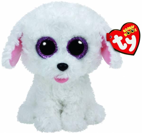 """Ty Beanie Boos, """"Pippie"""", Hund, ca 15cm"""