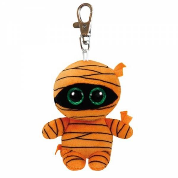 Ty Beanie Boo's Clip, Mumie Mask, orange, ca 8.5cm