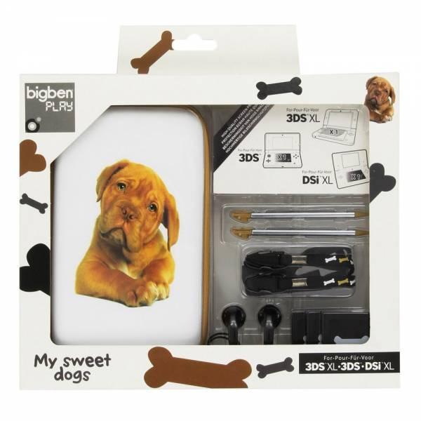 Pack - Animals 3DS, 3DS XL, DSi XL (BigBen) - My sweet dogs