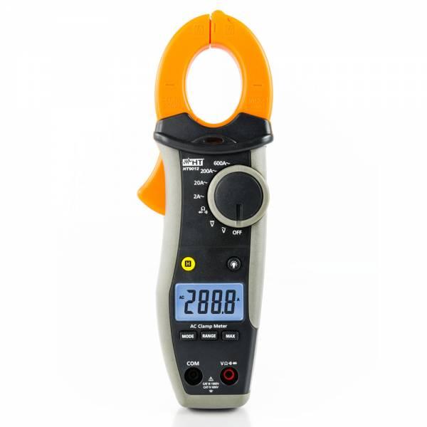 HT-Instruments HT9012 Digitale Stromzange 600A AC mit mA Funktion, CAT IV 600V