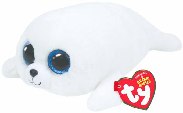 """Ty Beanie Boo's, """"Icy"""", Robbe weiss, ca 42cm"""