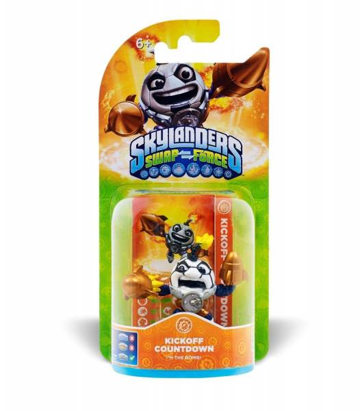 SKYLANDERS SWAP FORCE Exclusive Figur - Kick-Off Countdown