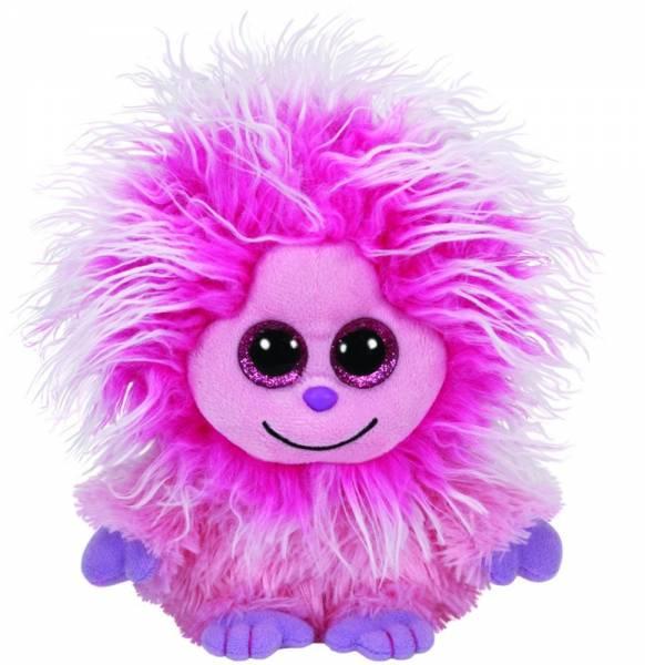 """Ty Beanie Boos, """"Kink"""" , pinker Frizzy, ca 15cm"""