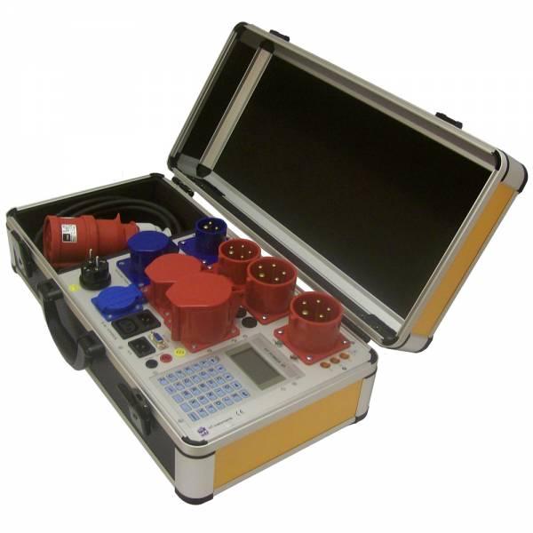 HT-Instruments HT-Power 0701/0702 3P ST RCDVDE 701/02 Prüfgerät für 1 und 3 phasige Betriebsmittel i