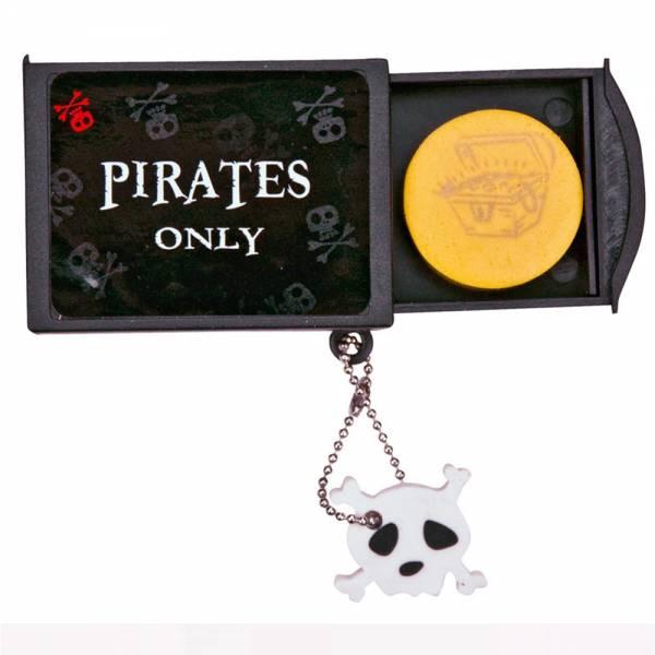 "Zauberbox ""Pirates only"" inkl. Radierer"