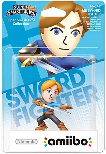 amiibo - Smash Mii-Schwertkämpfer Figur Wii U / 3DS / 2DS