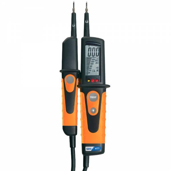HT-Instruments HT7 Digitaler Spannungsprüfer, mit Lastzuschaltung, 0V bis 690V AC/DC , CAT IV 600V