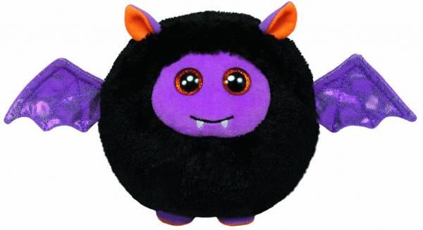 Batty Ball - Fledermaus mit Flügel, ø 12 cm, Beanie Ballz, Halloween, limitiert