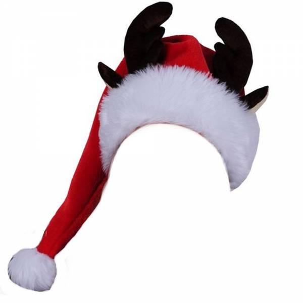 Produkt Abbildung Weihnachtssamtmuetze_mit_Rentiergeweih.jpg