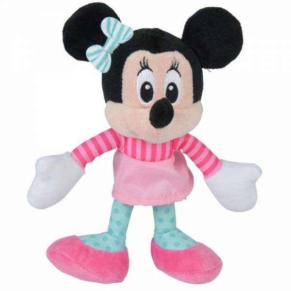 "Disney ""Minnie Fashion""-gestreift, Plüsch, ca 18cm"