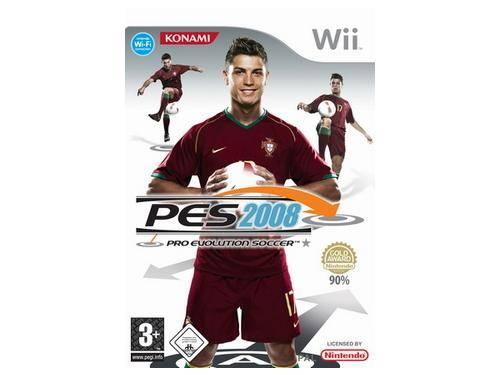 Pro Evolution Soccer 2008 Wii