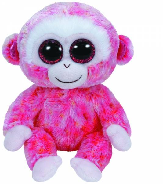 """Ty Beanie Boo's, """"Ruby"""" , Affe rot/weiss, ca 15cm"""