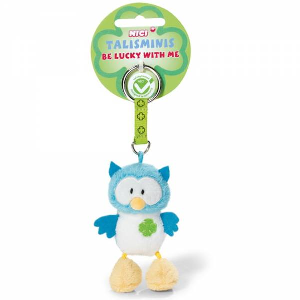"Nici Eule, Talisminis ""Be lucky with me"", ca 7cm"