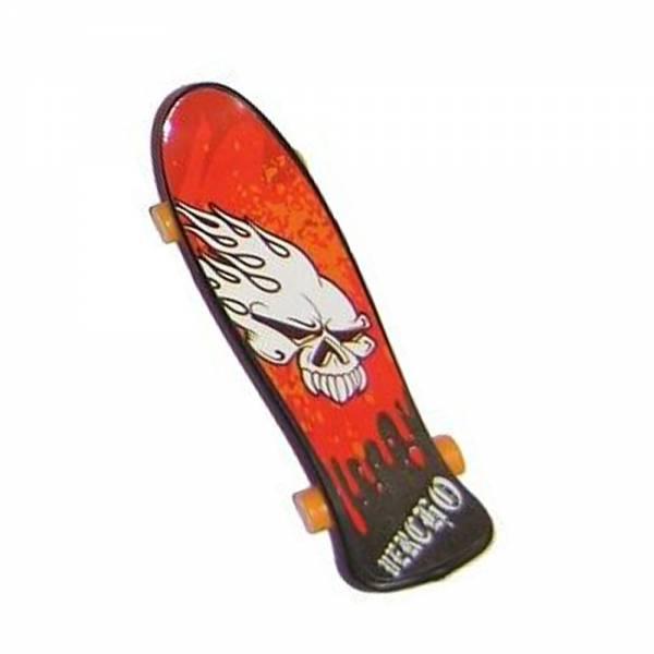 """Paul Import - Finger Skateboard """"Burning Skull"""""""