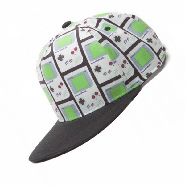 "Nintendo Snapback Cap ""Gameboy All-over Print"""