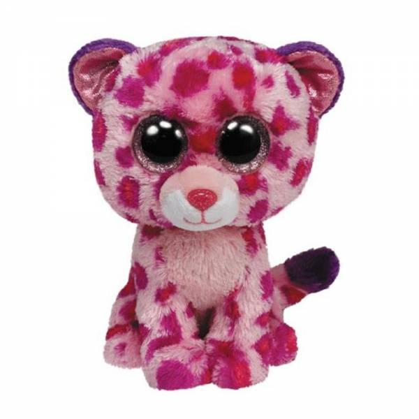 "Ty Beanie Boo's, ""Glamour"", Leopard, pink, ca15cm"