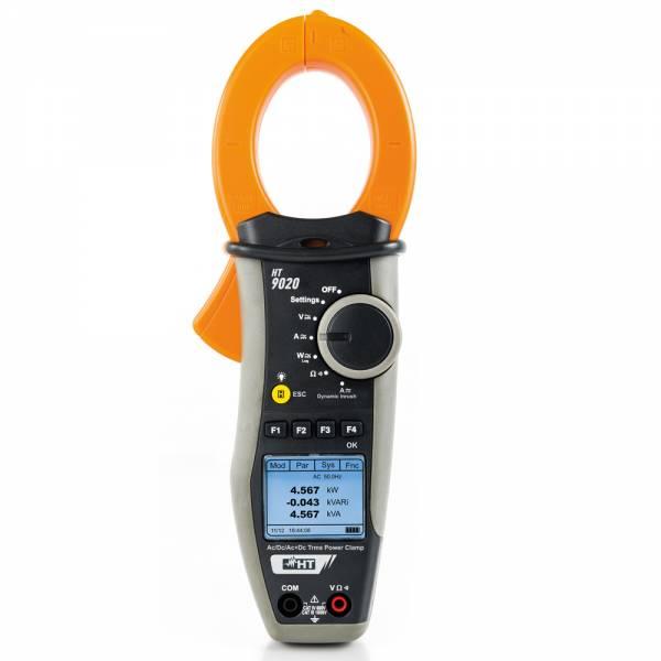 HT-Instruments HT9020 TRMS Stromzange AC/DC 1000A mit Leistungsanalyse