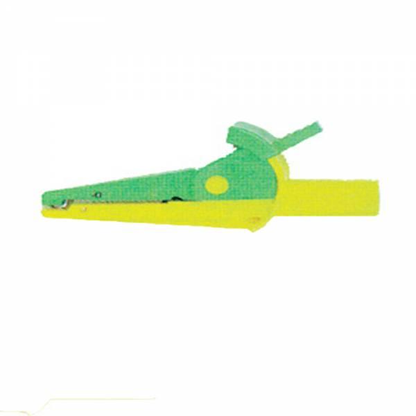 HT-Instruments 5004-IECV Krokodil Klemme grün (20A)