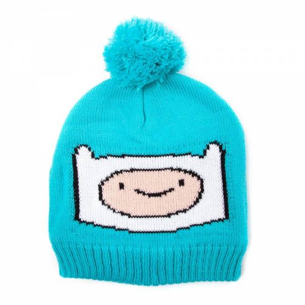 Adventure Time Mütze Finn, blau