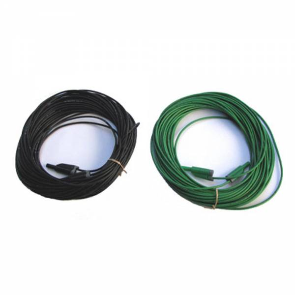 HT-Instruments KIT-EXT25M2 Messleitungen grün, schwarz je 25m mit Sicherheitsstecker 4mm