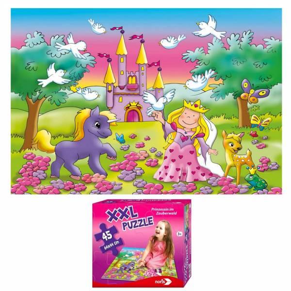 Produkt Abbildung XXL_Puzzle_Prinzessin_im_Zauberwald.jpg