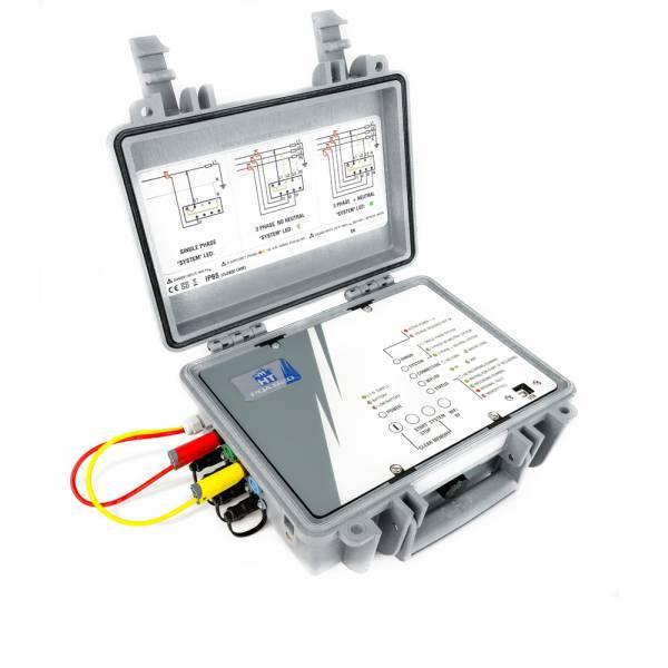 HT-Instruments PQA820S3 Phasen Datenlogger zurSpannungsanalyse (ohne Stromwandler)