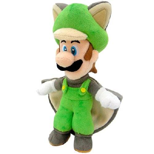 Nintendo Plüschfigur Flying Squirrel Luigi (23cm)