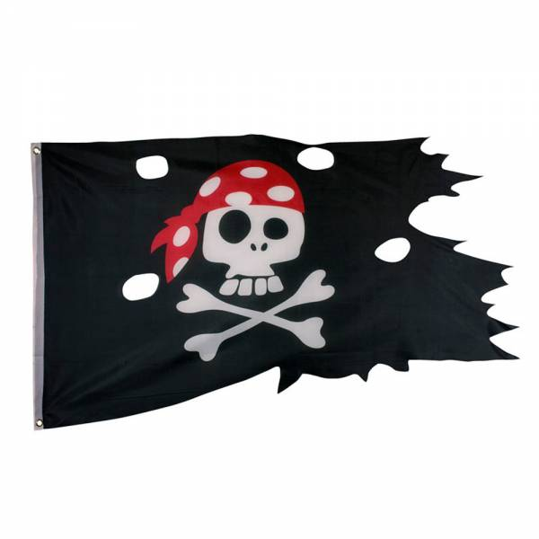 "Coole Piratenfahne ""Pirates Only"""