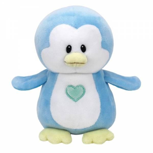 """Baby Ty, """"Twinkles"""", Pinguin hellblau, ca 17cm"""