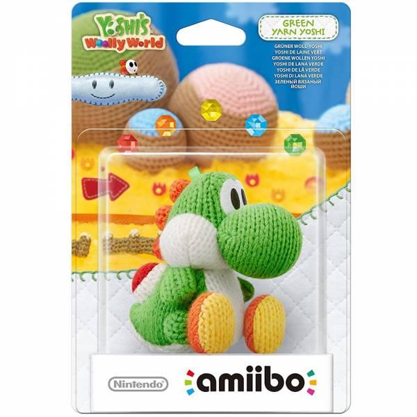 amiibo - Woll-Yoshi - Grün Wii U / 3DS / 2DS