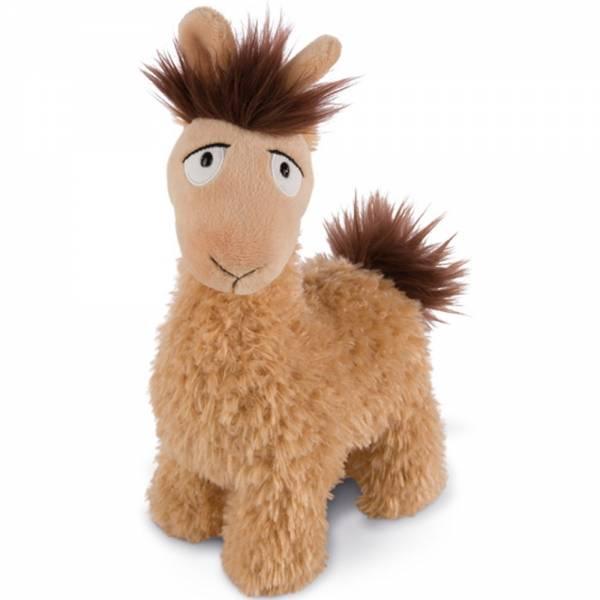 """Nici Lama """"Luis"""", ca 25 cm, braun/beige"""