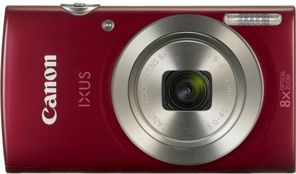 Canon IXUS 175 Kompaktkamera, 20,2 Megapixel, 8-fach optischer Zoom (16-fach), 2,7 Zoll, rot