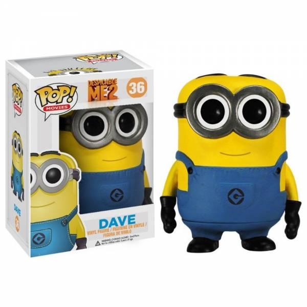 Funko Pop: Minion Dave - Despicable Me 2 (ca. 10 cm)