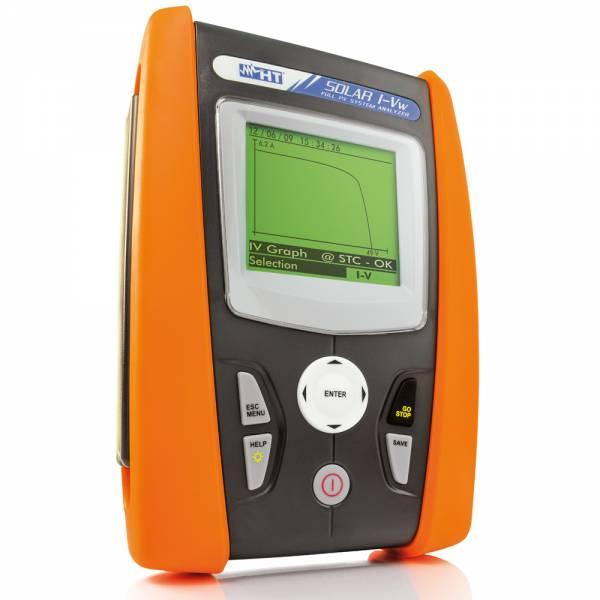 HT-Instruments SOLAR I-Vw Messgerät für PV Anlagen sowie PV Module & Strings bis 15A / 1000V DC