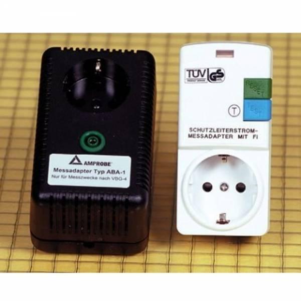 HT-Instruments ABA-1FI Schutzleiterstromadapter mit RCD