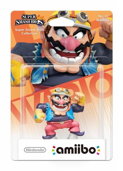 amiibo - Smash Wario Figur Wii U / 3DS / 2DS
