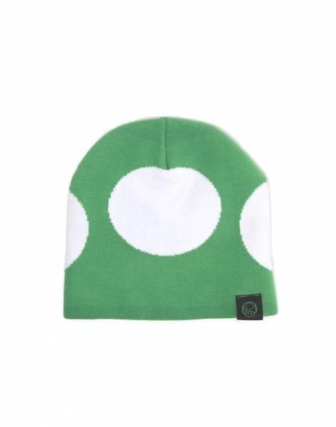 Nintendo Mütze Green Mushroom