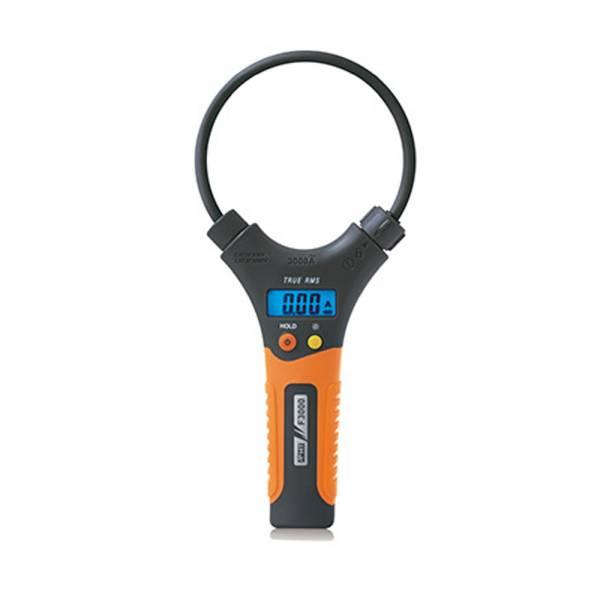 HT-Instruments F3000 Stromzange mit flexiblem Messkopf, 0.1A bis 3000A AC, TRMS, CAT IV 600V