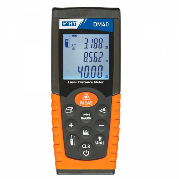 HT-Instruments DM40 Professioneller Digitaler Laser-Entfernungsmesser bis 40m